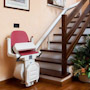 Chaise monte-escalier courbe
