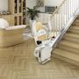 Chaise monte-escalier droit